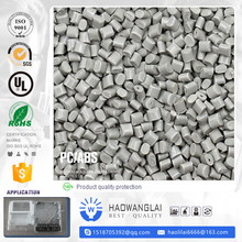 material black recycled pc/abs resin price