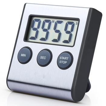 Unique design countdown countup 24 hour magnetic digital kitchen timer