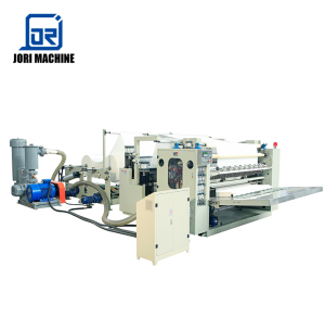 10 Lane V Fold Box Drawing Facial Tissue Paper Folding Making Machine
