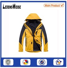 Racing Climbing Warm Windbreaker Jacket with Pressure Glue