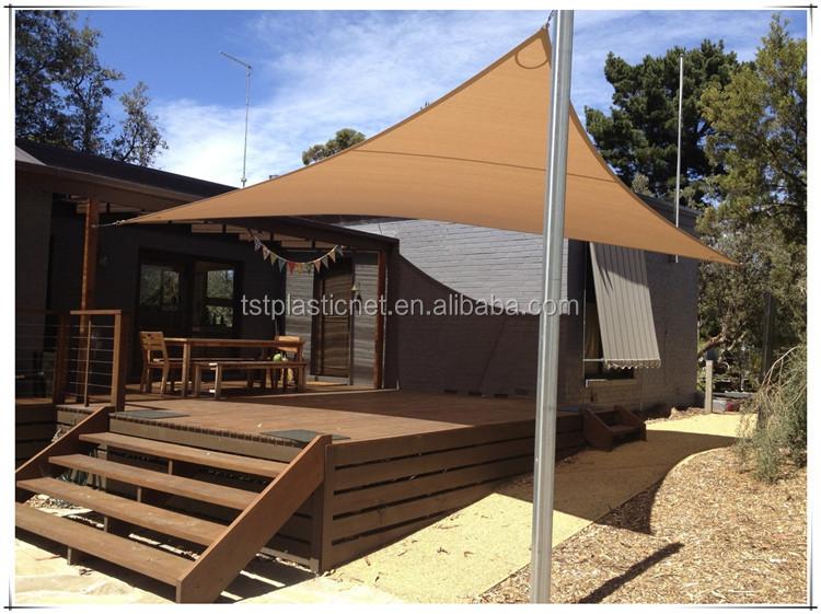 Backyard Canopy Triangle Sun Shade Patio Lawn Outdoor Sail UV Top Cover & Backyard Canopy Triangle Sun Shade Patio Lawn Outdoor Sail Uv Top ...