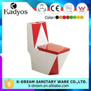 European standard sanitary wares one piece color wc toiletKD-11CT