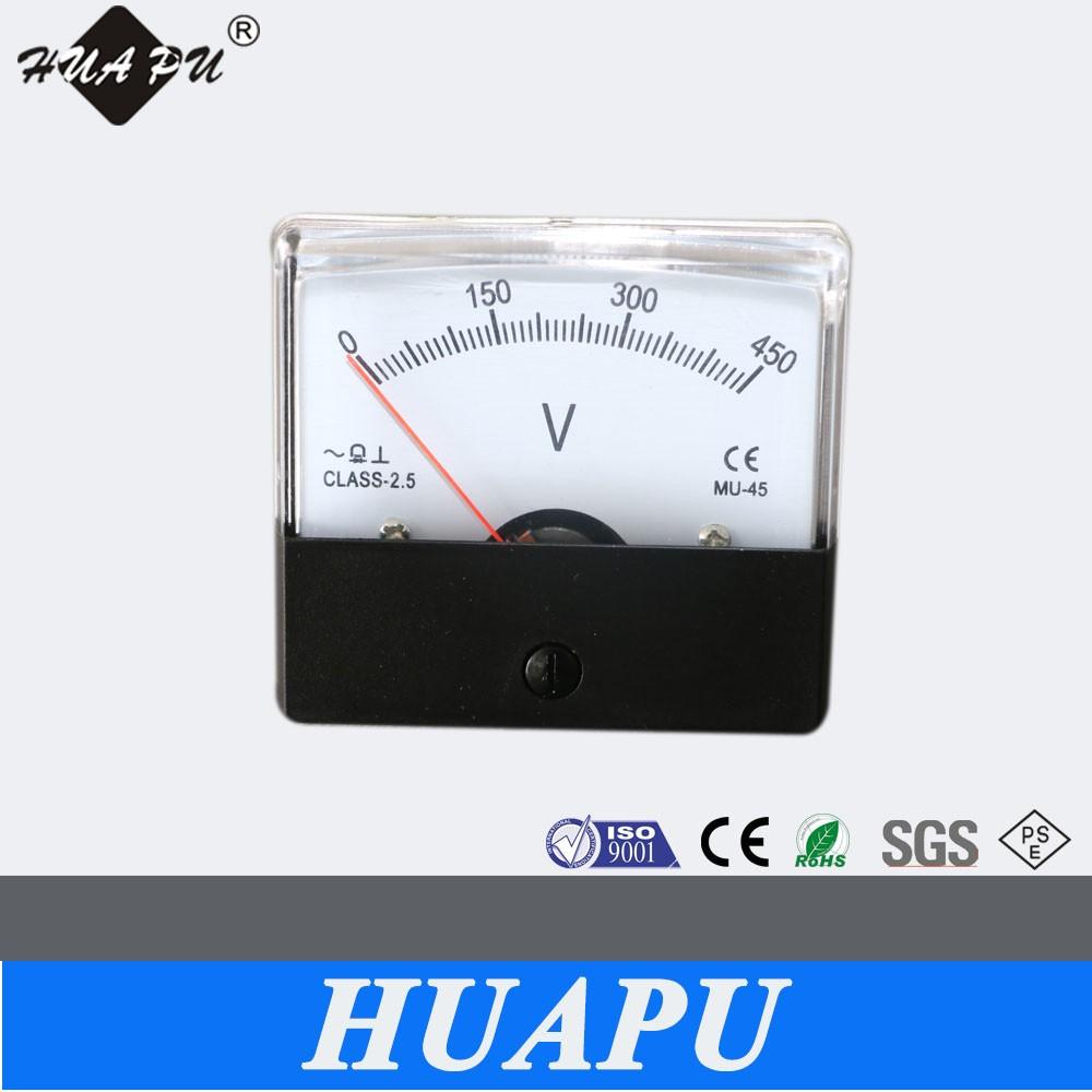 Manufacturer Mu-45 Analog And Digital Display Panel Meter Ac ...