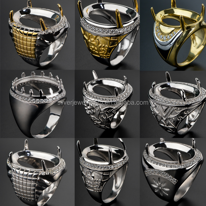 Wholesale Cubic Zircon Stone Men\'s Ring Design For Men - Buy Stone ...