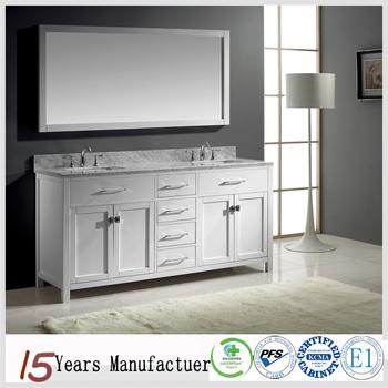 White Bathroom Vanity Cabinet Design