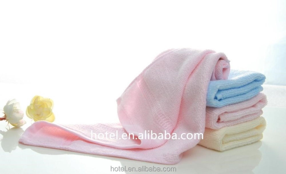 Cotton plain towel with various colurs made in Nantng,China