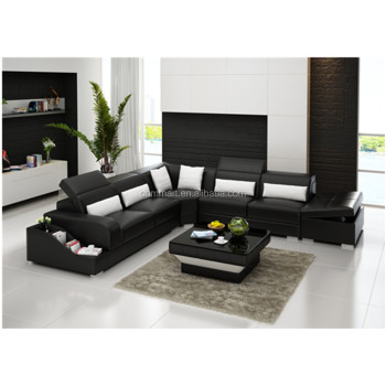 Modern Euro Design Living Room Genuine Leather L Shaped Sofa - Buy L Shaped  Sofa,Living Room Sofa,Genuine Leather Sofa Product on Alibaba.com