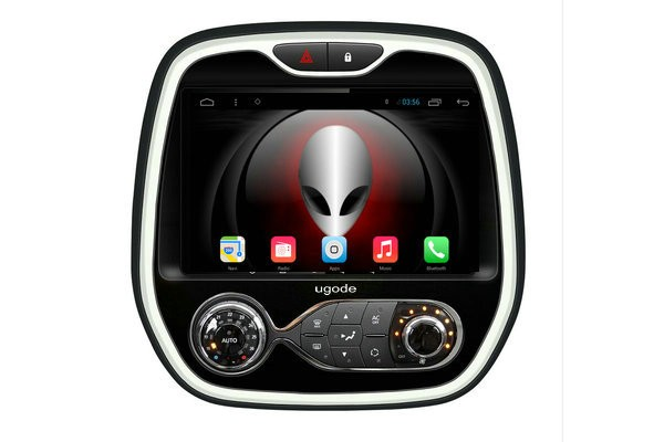 ugode 9 inch android 4 4 5 1 autoradio dvd gps voor renault captur buy product on. Black Bedroom Furniture Sets. Home Design Ideas