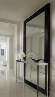 Miroir En Aluminium A Double Dos Pour Salle De Sport Hotel Et