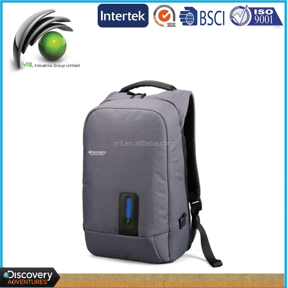 Modern Multi-Functional backpack power bank recharegebable backpack with detachable battery