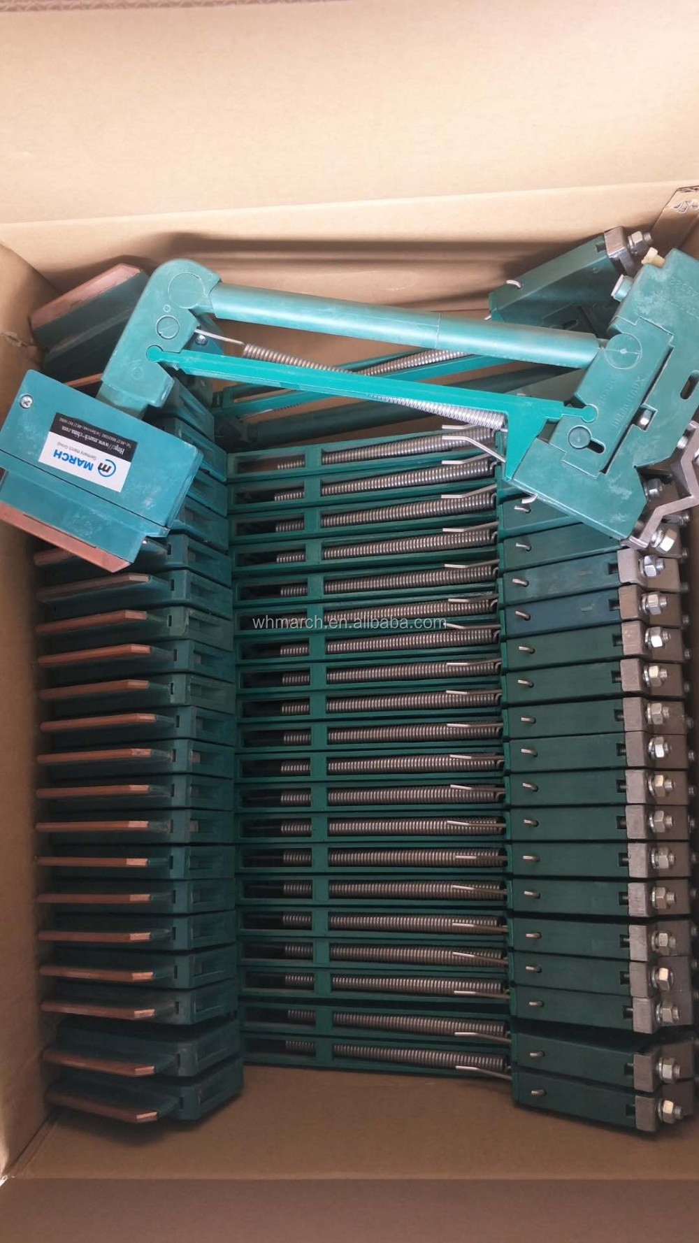 China factory supply current collector for crane collector/100amp current collector