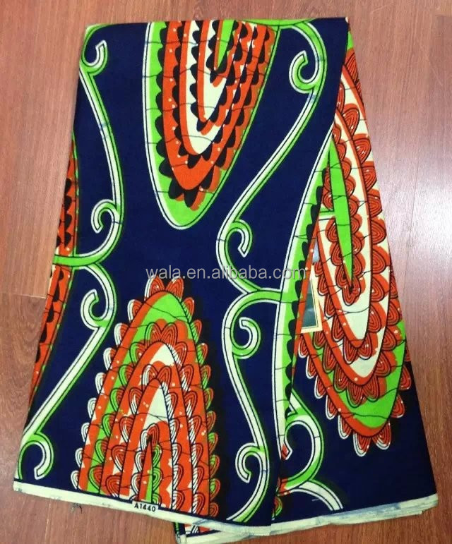 Top quality fashion design veritable african wax print fabric WS1028