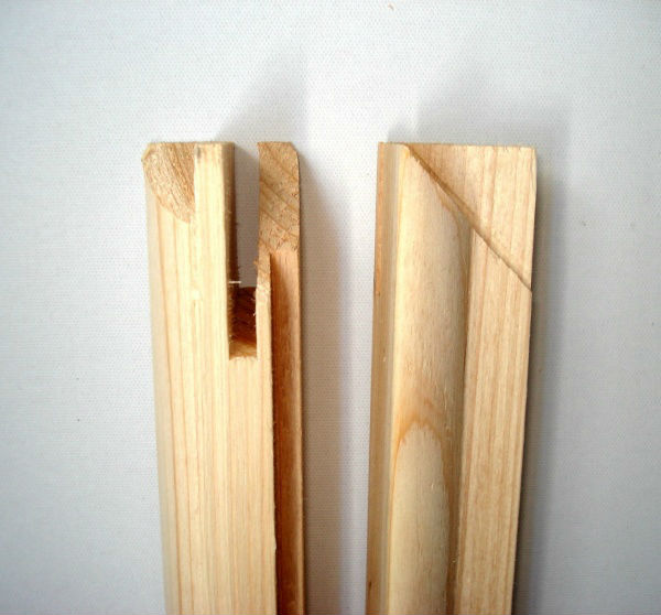 Bares camilla de lona( pino, de madera de abeto)-Marco ...