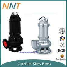 Centrifugal vertical submersible sewage pump with mixer at bottom