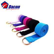 100% <span class=keywords><strong>cotone</strong></span> <span class=keywords><strong>yoga</strong></span> strap fascia per lo stretching esercizio