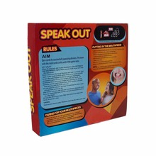 Cheap price portable board games speak out challenge your mouth