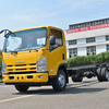 Used cargo truck 6x6 for sale steel dry bodies