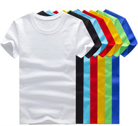 Hot selling short sleeve fashionable T-shirt for 100% cotton with printable and customizable