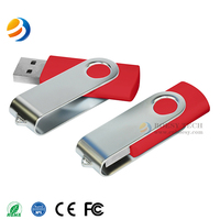 U001-Twister USB flash drive with logo printing. Swivel USB drive for gift promotion.