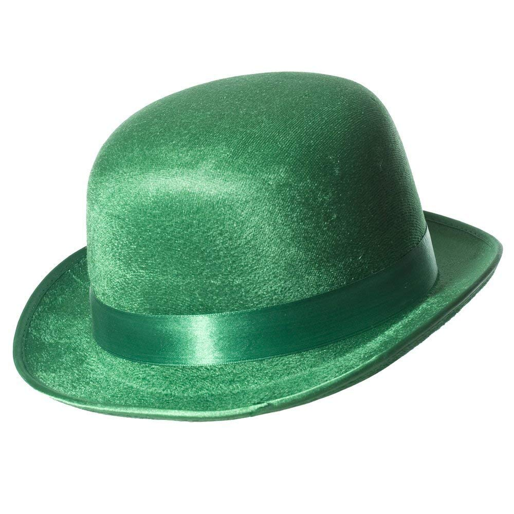 Get Quotations · St Patrick Day Green Hat (Derby Hat Green) 2adfed1ba1d3