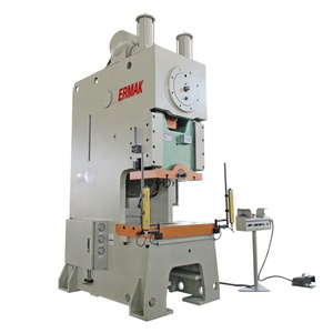 ERMAK high quality CNC punching machine pneumatic power press 80 ton press machine