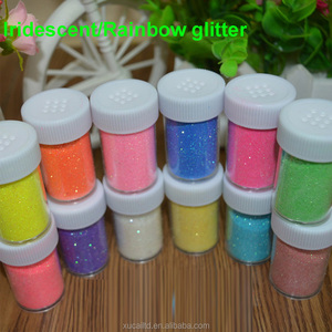 Supply good price hexagon plastic glitter for Screen printing