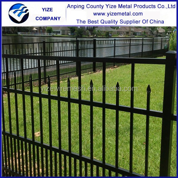 electric galvanized framework cheap pvc fence poles