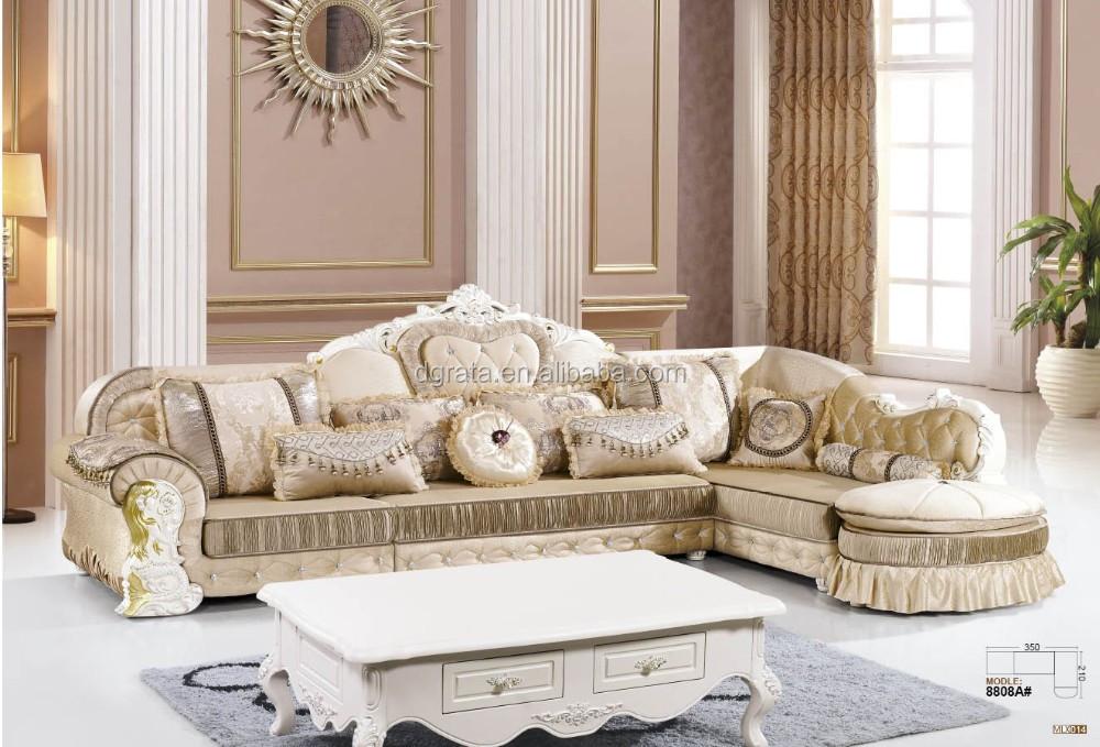 2017 Neue Modernen Stil Stoff Sofa Set Wurde Durch Flachs Stoff Und  Eichenholz Für Wohnzimmer