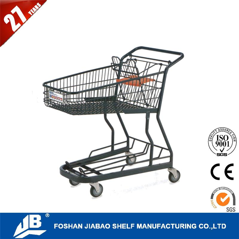 high quality pack n roll folding trolley cart for retail store