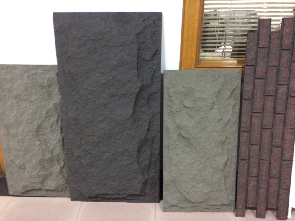 New Product Polyurethane Material artificial stone products for PU artificial stone veneer river rock