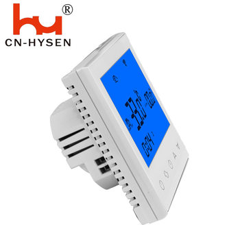 Hysen Electronic Digital Touch Screen Smart Thermostat For Underfloor Heating Carbon Film
