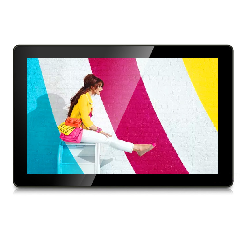 Android Wifi Internet 13.3 inch Touch Screen Monitor <strong>LCD</strong> Advertising Digital Signage