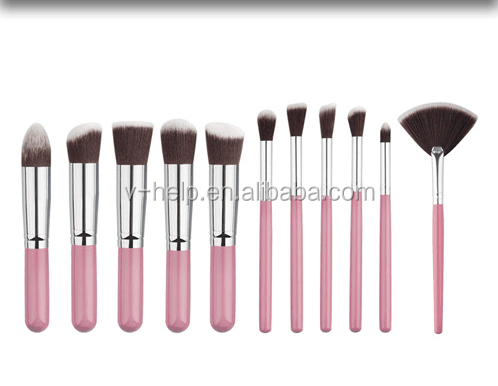 Makeup set brushes cosmetic/make up brush set