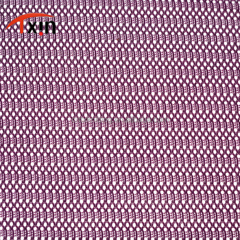 100% polyester tricot jacquard mesh fabric for dress decorated presents
