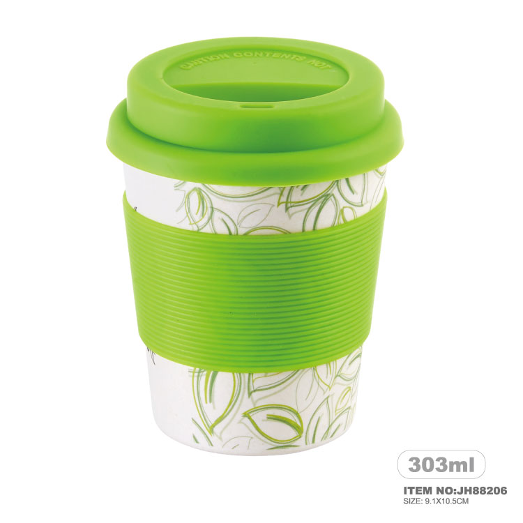 eco-friendly Bamboo coffee cup biodegradable