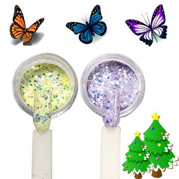 Christmas New products chrome pigment organic acrylic dipping powder