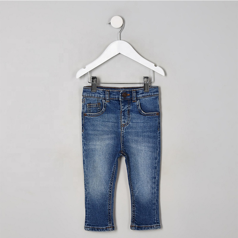 Childrens Toddler Boys Jeans Pants Trousers Denim Style 2-6 Years New MINIKIDZ
