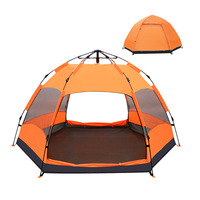 Good quality automatic outdoor camping picnic beach big family tents by manufacturer