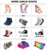 DL-II-0299 men ankle socks gay 100 cotton ankle socks men mens short socks
