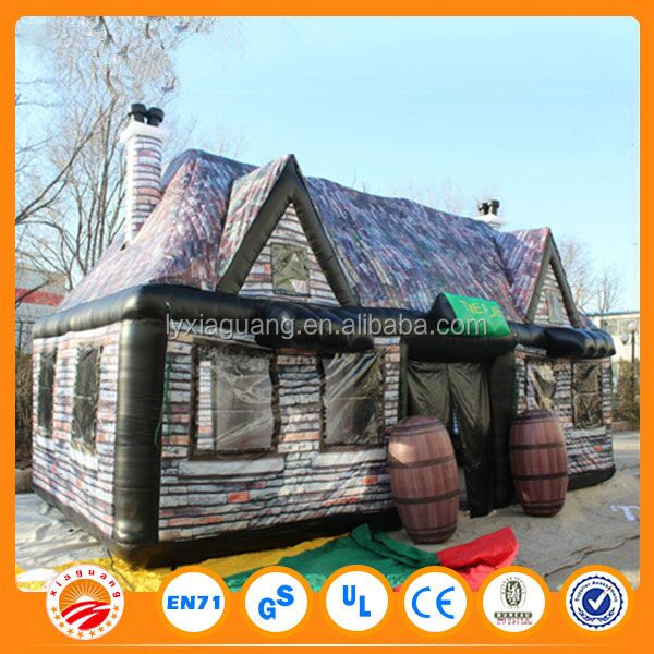 giant halloween inflatable haunted house for sale