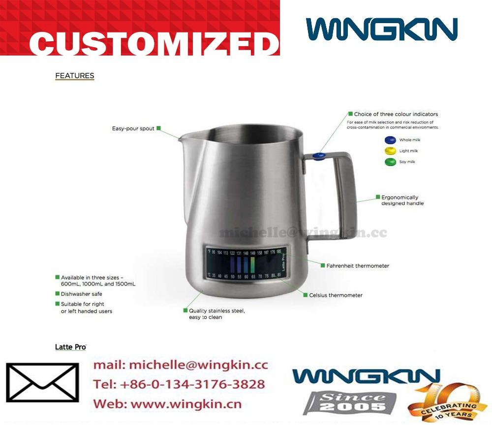 Temperature Sensing Milk Jug/latte Pro Espresso Milk