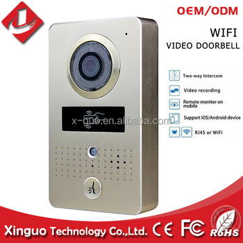 Video Door Phone Multi Apartment Building Doorbell Intercom Wifi Security System Smart Gsm