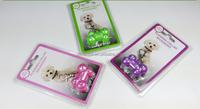 Pet supplies manufacturers selling 6 led flashing pendant Glowing dog tag the lost dog artifact