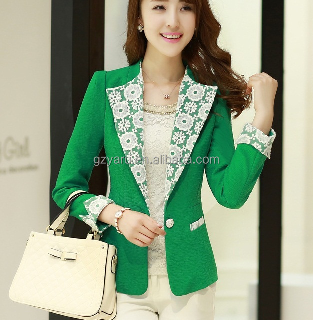 Ladies Office Wear Suit European Style Womens Suit - Buy European ...