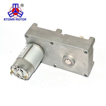 24V 12V DC motor high torque low rpm