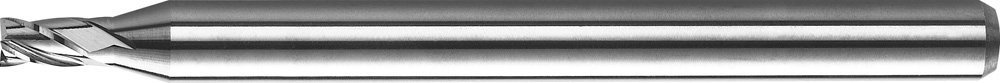 "KYOCERA 1820-2188L438 Series 1820 Stub Length Square End Mill, Carbide, AlTiN, 30 Degree Angle, 4 Flute, 7/32"" Cutting Diameter, 1/4"" Shank Diameter, 0.438"" Cutting Length, 2-1/2"" Length"