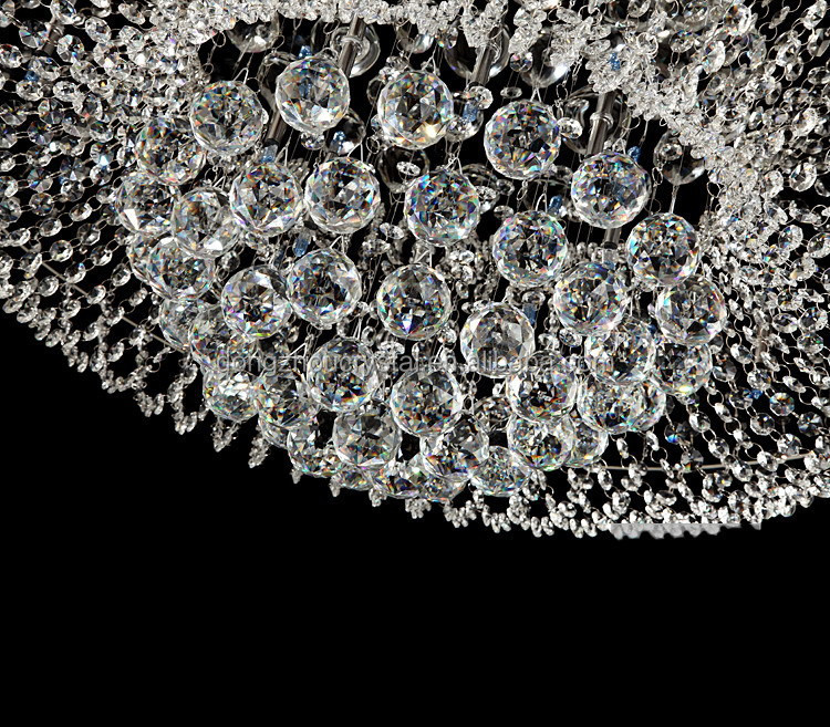Wholesale Faceted Round Crystal Ball Chandelier For Crystal Light ...