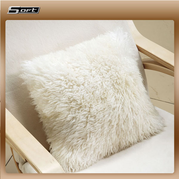 Sheepskin Short Wool 40 x 40cm Floor Cushions pillow