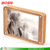 Wholesale custom acrylic 4x6 family photo frame wooden picture holder display