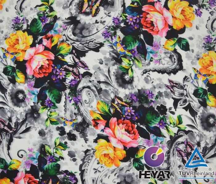 Custom digital fabric printing printed on cotton fabric for Fabric printing